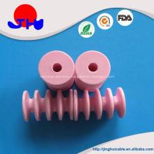 Wear resistant textile ceramic roller