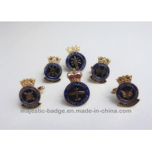 Lovely Navy Cuff Link Hz 1001 F019