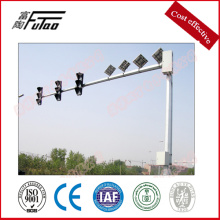 Super Purchasing for Metal Sign Post, Street Sign Post, Traffic Sign Post Suppliers in China 5.8x 6 meters Solar Traffic Signal Pole export to Venezuela Factory
