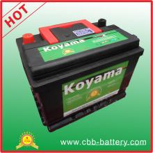 Gute Qualität Amerika Fahrzeug Batterie SMF Auto Batterie 370CCA Bci 42-Mf