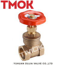 high quality flange forged knife medium pressure flash board aluminum handle wheel brass gate valve with certificate