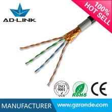 Cat5 cable ftp câble extérieur extérieur blanc