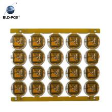 Oro de inmersión con color verde PCB de un solo lado / placa de circuitos impresos