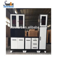 Steelart heißer Verkauf neue Modell Küchenschrank moderne Stahl Küchenschrank Griff Schrank Küche in China hergestellt