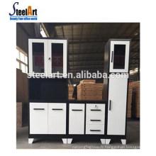 Steelart vente chaude nouveau modèle armoire de cuisine en acier inoxydable armoire de cuisine poignée armoire cuisine fabriqué en Chine