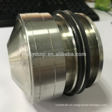 Spring energized PTFE rotary shaft seal V type teflon spring seals o ring