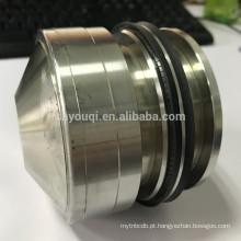Mola de vedação de eixo rotativo de PTFE energizado V tipo selos de mola de teflon o anel