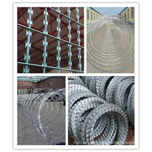 Concertina Hot-DIP Galvanized Razor Barbed Wire