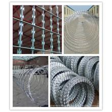 Concertina Hot-DIP Galvanized Razor Barbed Wire