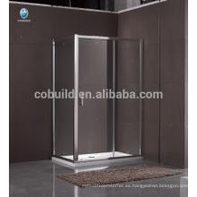 K-557 completa sala de ducha con mampara de vidrio corrediza con marco completo cuarto de ducha
