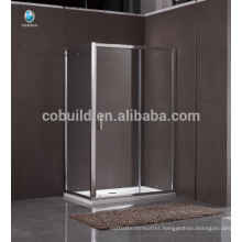 K-557 complete sliding glass enclosed shower enclosure room with frame complete shower room
