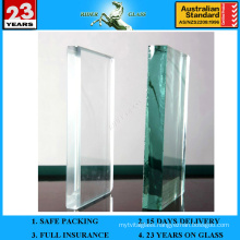 1.3-19mm Clear Glass with AS/NZS2208: 1996