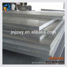 Plaque en aluminium 6061 6062 6082