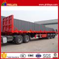 Head Board 3 Achsen Container Transport 40FT Tieflader