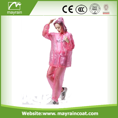 Outdoor Activity PVC Rain Suit
