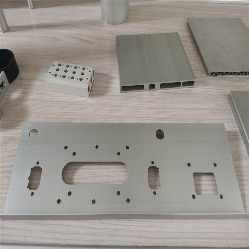 CNC Engraving and milling Aluminum sheet and spare part22