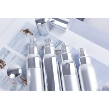 Anodized Aluminum Spray Silver Packing Plastic Vacuum Bottle