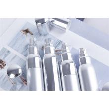 Eloxiertes Aluminium Spray Silber Verpackung Kunststoff Vakuumflasche