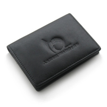 black card holder PU material