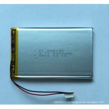 506890 Li-Polymer 3600mAh 3.7V Bateria de polímero de lítio pequeno
