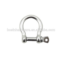 Fashion High Quality Metal Stainless Steel Anchor Shackle