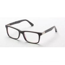 Simple Fashion Acetate Cheap Eyeglasses with black Frame HBG025