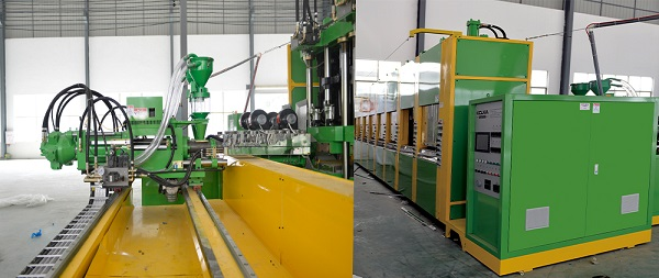 Full Automatic Vacuum Foaming Moulding Machine 3
