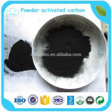 Filtre de charbon actif de poudre pour la purification d'alcool dans l'industriel chimique