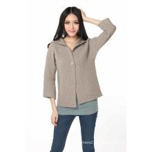 Cardigan de cashmere moda feminina (3114-2013040)