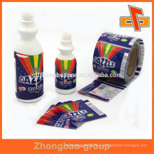Сделано в провинции Гуандун оптовые термоусадочные этикетки для бутылок для обесцвечивания