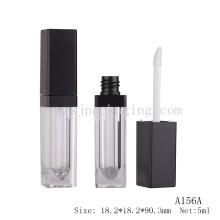 Novo vazio levou luz lip gloss tubo de embalagem por atacado 5ml LED tubo de brilho labial