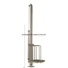 Cattle Abattoir Equipment: Cattle Slaughterhouse Single-Pole Pneumatic Elevator