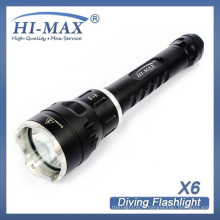 HI-MAX nouvelle arrivée 200m irradiation lotus attaque tête plus lumineuse lampe torche