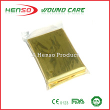 Couverture en aluminium doré HENSO