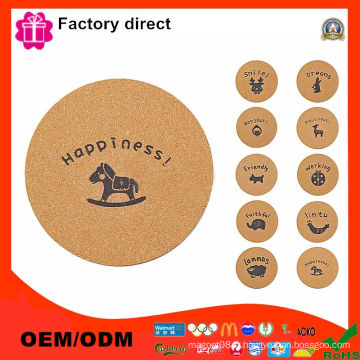 Coasters Set of 6 Cute Animal Design Accueil Haute qualité Bonne Boissons Tapis Mat