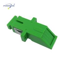 acoplador de fibra óptica de baja pérdida de inserción SC / PC con obturador
