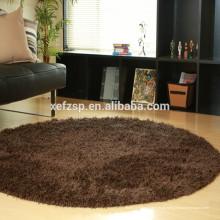 tapetes modernos do tapete turco do poliéster do microfiber