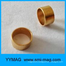 Cheap golden FeCrCo ring magnet