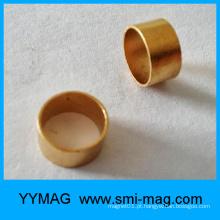 Ímã dourado barato do anel de FeCrCo