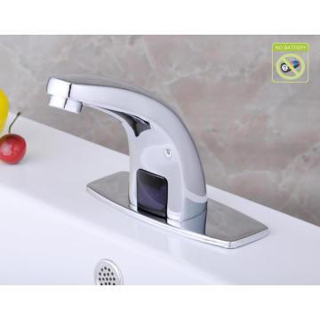 Kein Batterie Automatischer Kältesensor Wasserhahn