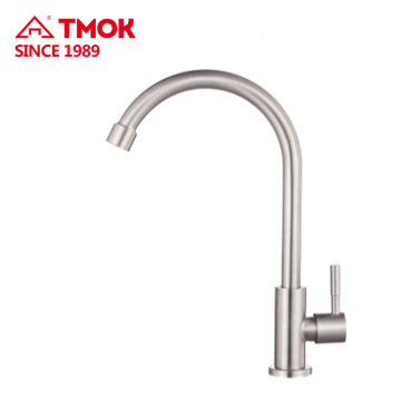 Single Handle kitchen taps Faucet, Stainless steel Water Faucet for Bathroom