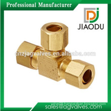 Brass Equal Tee With Union