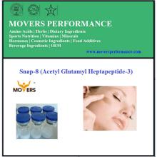 Péptido de alta calidad Snap-8 de los cosméticos (Acetil Glutamil Heptapeptide-3)