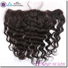 Top Qualité 11A Grade Vierge de Cheveux Humains Droite Style 13 * 4 Eurasian dentelle frontale