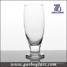 Copa de agua de vidrio blanco alto