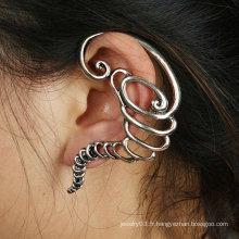 Mode Boucles d'oreilles Vintage Vintage Boucles d'oreille en gros Ear Clip Jewelry EC50