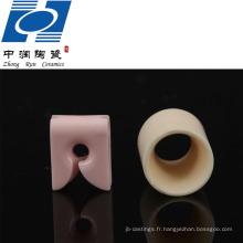 Pièces en céramique de textile d'alumine de grande pureté 99%