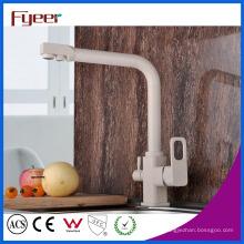 Fyeer Modern 3 Way Messing Küchenfilter Wasserhahn