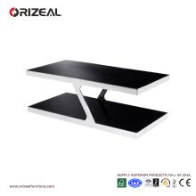 Orizeal стеклянный журнальный столик (ОЗ-OTB014)