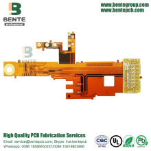 China Supplier for China Manufacturer of Flex Rigid PCB, Rigid Flex, Flexible Circuits, Flexible PCB Board 2layers Flexible Board With 2.0mm FR4 High-precision export to Netherlands Importers